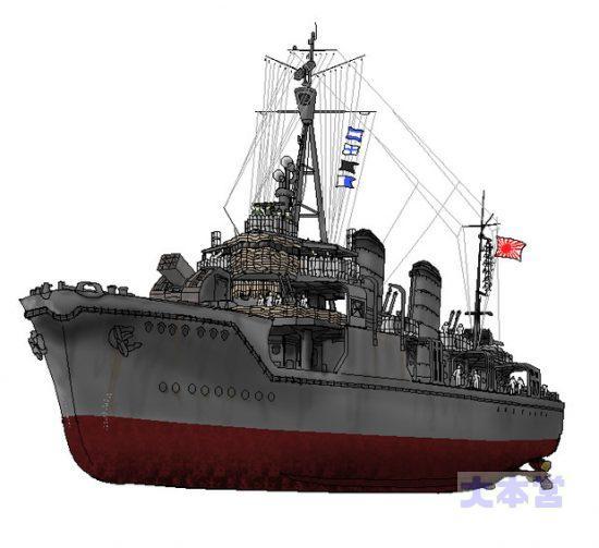 対潜実験艦「澤風」