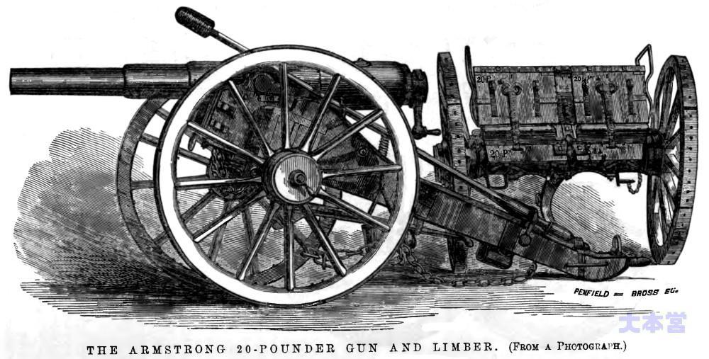 20ポンドアームストロング砲