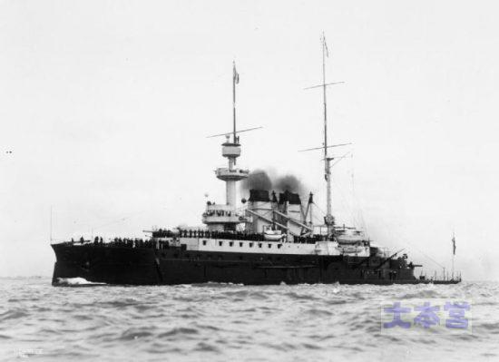 海防戦艦アンリ4世8800トン