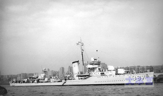アメリカ駆逐艦「ベンハム」