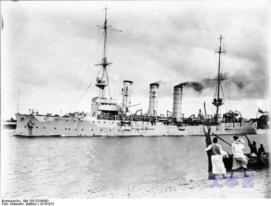 第一次大戦で活躍した「ケーニヒスブルク」