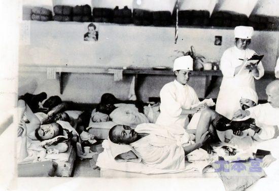 病院船パシフィック丸での看護