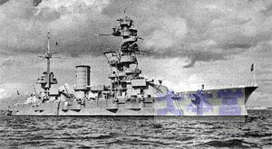 1939年撮影の戦艦マラート