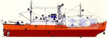 南極観測船宗谷、第一次観測時