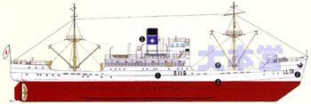 灯台補給船宗谷