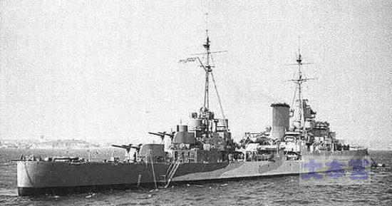 ニュージーランド海軍の軽巡「リアンダー」