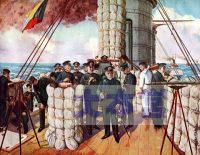 三笠艦上のZ旗
