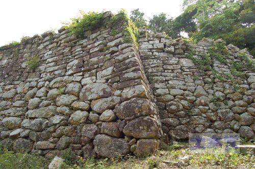 対馬の金田城