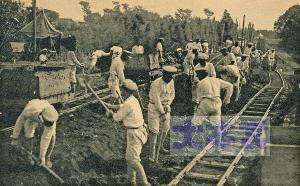 路盤構築訓練ゲージから見るに軽便鉄道である