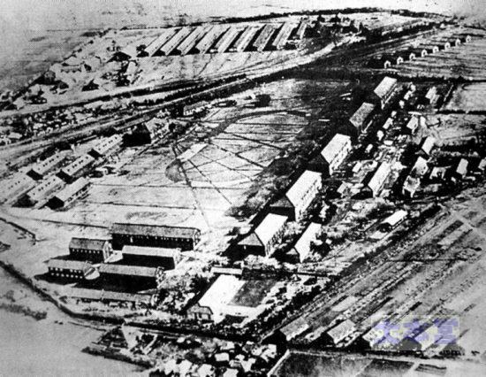 鉄道第二連隊の営舎