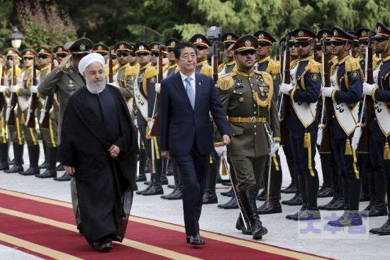イランを訪問した安倍晋三首相