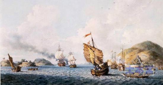 阿片戦争での海戦