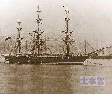 チリ海軍「エスメラルダ」イキケ海戦で撃沈される