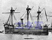 チリ海軍装甲艦「アルミランテ・コクレーン」