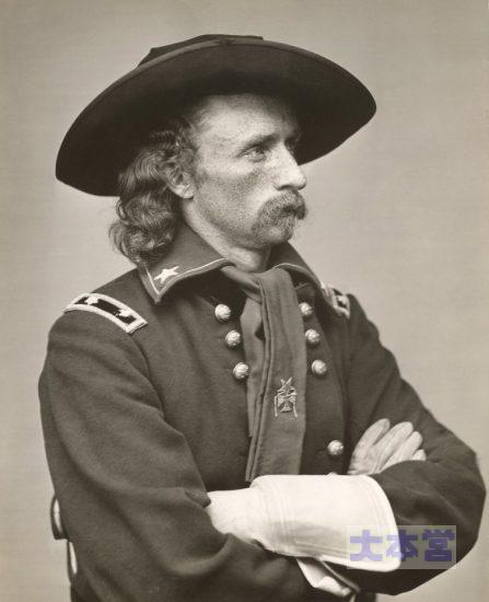 第七騎兵隊のカスター中佐
