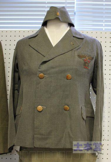 戦後展示された制服