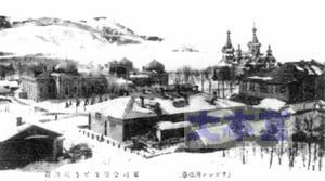 1925年の亜港の街並み
