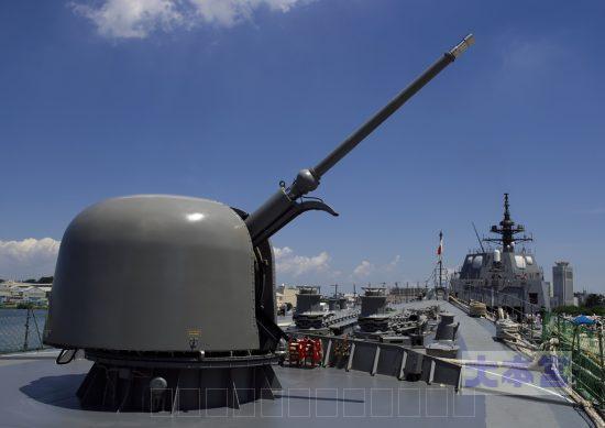 オットーメララ76ミリ砲(ゆうぎり搭載)