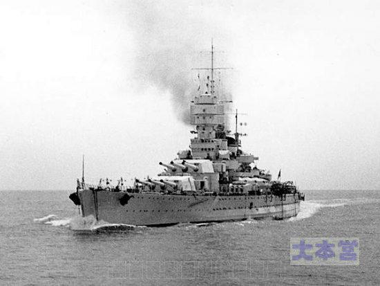 戦艦ヴィットリオ・ヴェネト1940