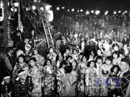 日本人街の盆踊りシアトルにて