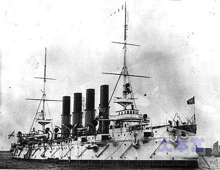 防護巡洋艦ヴァリヤーグ1901