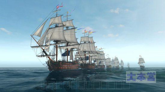 戦列艦の隊列