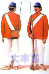 パラグアイ軍兵士
