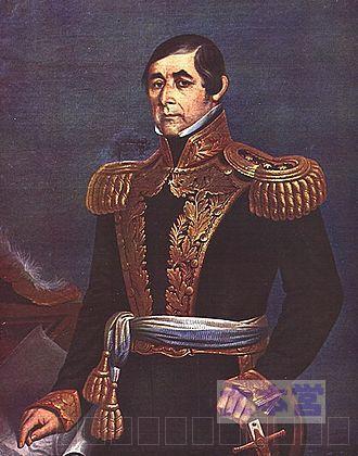 3国同盟戦争時のウルグアイ指導者ベナンシオ・フロレス
