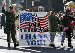 退役軍人の日のパレード