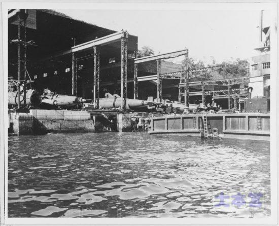 長崎三菱造船所の蛟龍