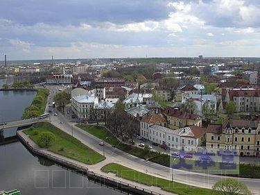 ヴィープリ市街(ソ連名ヴィボルグ)