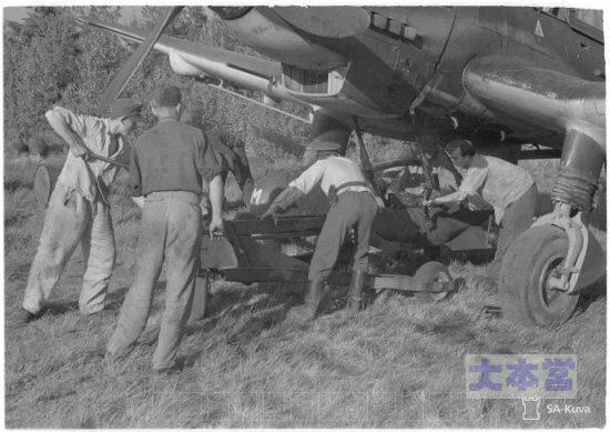 1944.6.28撮影250キロ爆弾を搭載