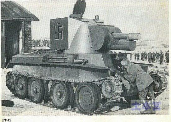 BT42の整備