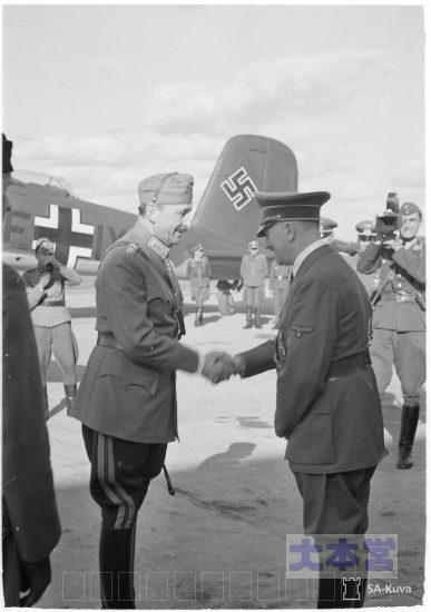 ヒトラーとマンネルヘイム