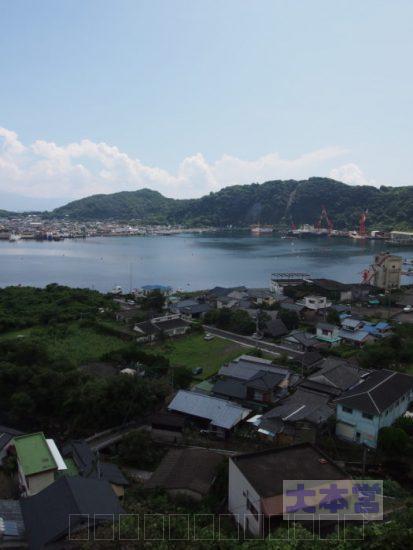 現在の山川港
