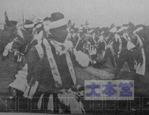 梅沢旅団の仮装行列